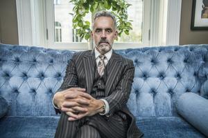 Den kanadensiske psykologiprofessorn Jordan B Peterson har skrivit boken 12 livsregler: ett motgift mot kaos. Foto: Lars Pehrson/TT