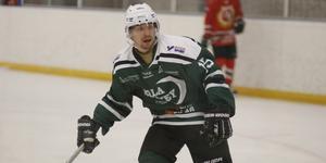 Mattias Edling gjorde fyra mål för Sala Hockey.