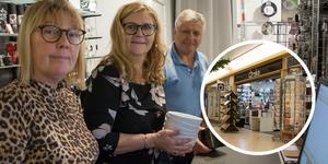 Önska stänger butiken i Gallerian i Sandviken. Trots omtag med mindre lokal och ny butik i Gävle. Bilden är ett montage.