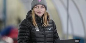 Jonna Igeland, vikarierande nyhetschef på sporten på Gefle Dagblad och Arbetarbladet.