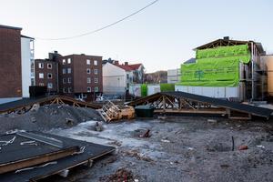 På Nygatan 3 planeras 50 nya hyresbostäder, 30 av dem blir eventuellt studentlägenheter.