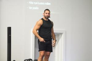 Kosten är en stor del av den träningen förklarar Peter Bláha som föreläste om träning i Delsbo på lördagen.