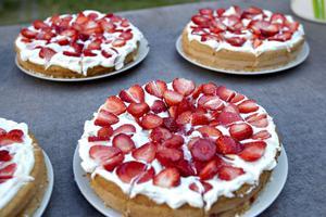 Det firades med tårta vid skolavslutningen för sjuorna på Norrsätraskolan.