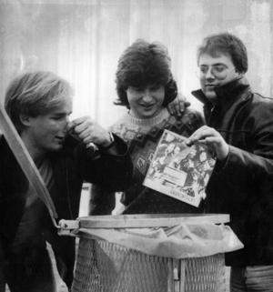 4. Distortion från Järpen, april 1982. Vet du mer om det här bandet