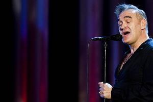 Morrissey har skrivit en av årets sämsta sexscener, enligt The Literary Review. ARKIVBILD.