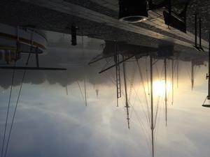 Morgon dimma har guld i mund