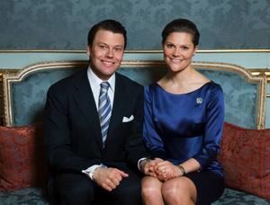 Daniel Westling och kronprinsessan Victoria.  Foto: Scanpix