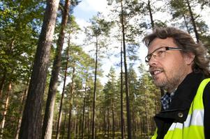 Sven Uhlås och hans bror Erik Uhlås driver det lilla skogsföretaget i Rättvik som bland annat arrangerar kurser i hyggesfritt skogsbruk.