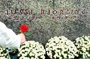 Flera konserter som uppmärksammade att det var 100 år sedan Jussi Björling föddes genomfördes i Dalarna förra året.