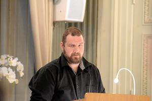 Andreas Widlund, SD, överklagar skogsbytet.
