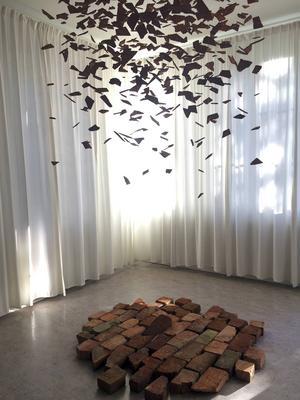 Henny Linn Kjellbergs installationen