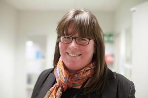 Maria Beiron, chef för asylprövningsenheten i Gävle.