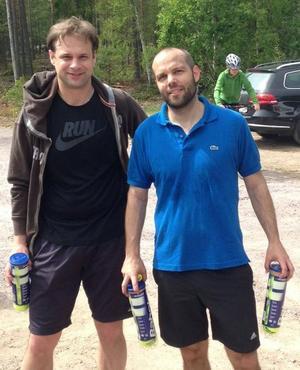 Tony Svahn och David Husahr vann årets Midsommarblixten i Långsand.