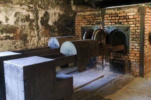 Krematorium i Auschwitz.