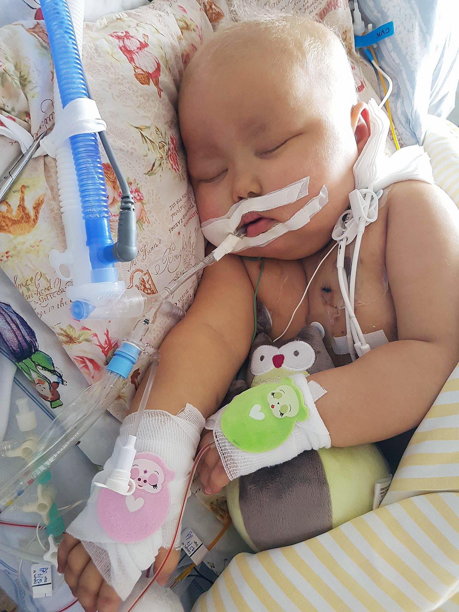 Bebis fick for hog lugnande