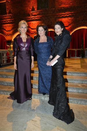 Victoria Dyring, Anna Hedenmo och Jessica Gedin.