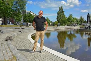 Fredrik Hallstensson är ordförande i Göran Melins insamlingsstiftelse.