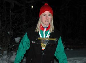 Arkivbild. Frida Sandberg vann EM-silver i dagens mixstafett i finska Imatra.