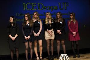 Årets UF-företag: ICEDrops. Celina Gustafsson, Emelie Göransson, Frida Smeds, Hanna Granström, Tara Manzanares, Tove Kronberg.