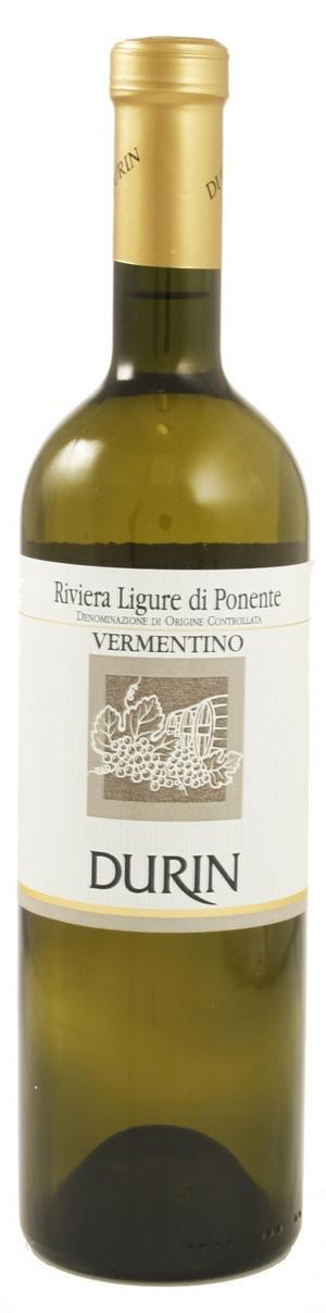 Vit italienare. Vermentino är en aromatisk italiensk vitvinsdruva som blivit populär på senare år. Durin Vermentino exponerar friska toner av päron och mineraler och passar fint till fisk och skaldjur.