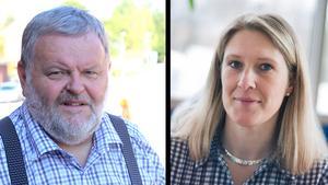 Lars Andersson (S) och Carina Sándor (FP).