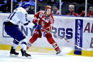 Joonas Lehtivuori, lagets backgigant gjorde det viktiga 2–1 målet.