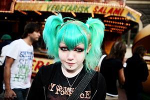 Melody Payne, 14 år, Hudiksvall, studerande  – Langos. De är goda och flottiga.