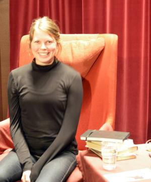 Camilla Eriksson berättade om hur hon upptäckte Kerstin Thorvall.