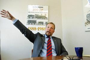 – Jag tror på Inlandsbanas framtid. Annars hade jag aldrig tagit jobbet, säger Otto Nilsson.