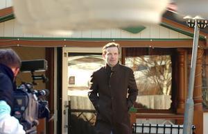 Melker Andersson har tillbringat många sommarlov i stugan i Bäckänge och vill gärna lära sig mer om Hälsingland.