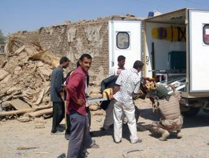 Dödsoffer fortsätter skördas i Irak. Foto: AP/Scanpix