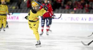 Martin Landström, här i Vetlanda BK, är numer klar för Västerås SK.