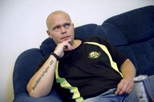 Jimmy Holmgren hälsade på från Unga Kris i Helsingborg, där han är mycket aktiv.