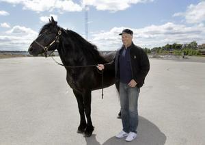 Järvsöfaks och Jan-Olov Persson var ut på Kattvikskajen för att inspektera tävlingsarenan. Fast i ärlighetens namn var nog