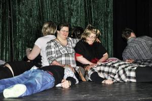 Therese, Christel och alla de andra i Teater Barda gav publiken många tankeställare.