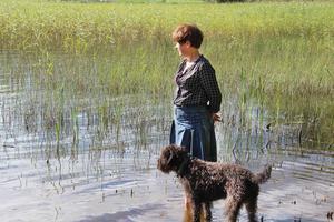 Annika bor precis vis Florsjön.