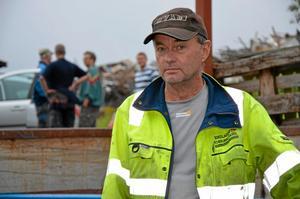 Göran Frykberg är chef på skärets sopstation i Kopparberg.