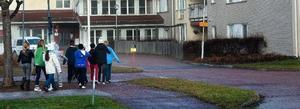 Flera dagar innan riskanalysen var gjorde hade politikerna bestämt sig för hur man skulle lösa matsalsproblemet för Åkerö skolas elever. Foto: Kjell Jansson/DT