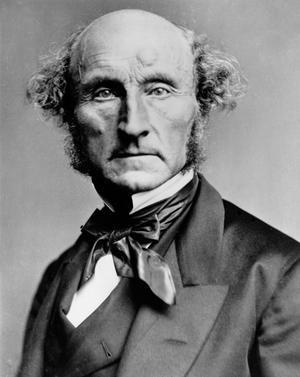 Filosofen och politikern John Stuart Mill 1870. ci