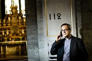 Bekymrad. Ingemar Söderström, kyrkoherde, tycker att det är viktigt att kyrkans jourhavande präst går att nå via 112.
