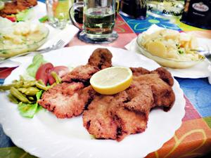 Wienerschnitzel måste man äta här i Österrike