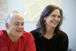 Göran Eliasson och Pers Anna Larsson presenterar sommarens opera i Dalhalla.