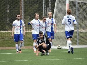 Philip Olofsson, Robin Nordin och Oliver Widahl fick alla jubla efter varsitt mål i den första halvleken.