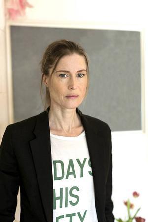 I somras gjorde Emma Warg ett första författarframträdande under Gåxsjö kulturdagar.