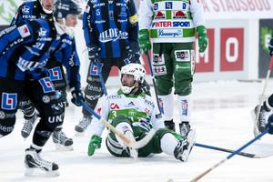 Ted Andersson i matchen mot Sirius i söndags.Foto: PER G NORÉN