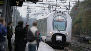 Tågresenärerna har blivit färre till följd av coronapandemin. Fotograf: Fredrik Sandberg/TT