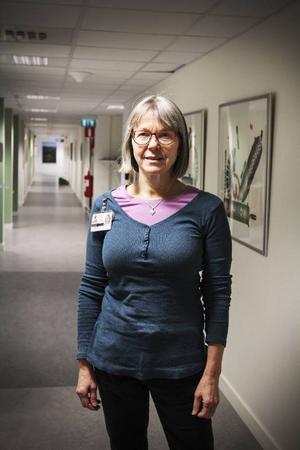 Ulla Näppä, sjuksköterska på Östersunds sjukhus, disputerar i maj nästa år.