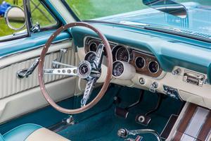 Typiskt 1960-tal. Efter att från början haft en mer blaffig instrumentering blev det så här smäckert redan 1965.   Foto: Radoslaw Lecyk/Shutterstock.com