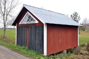 BRANDFÖRRÅD. I det gamla spruthuset från 1922 finns sprutvagnen bevarad.