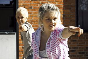 Ludvig Gustafsson och Linda Gunnarsson har tränat i flera veckor på sina danssteg.BILD: JESSICA UHLIN